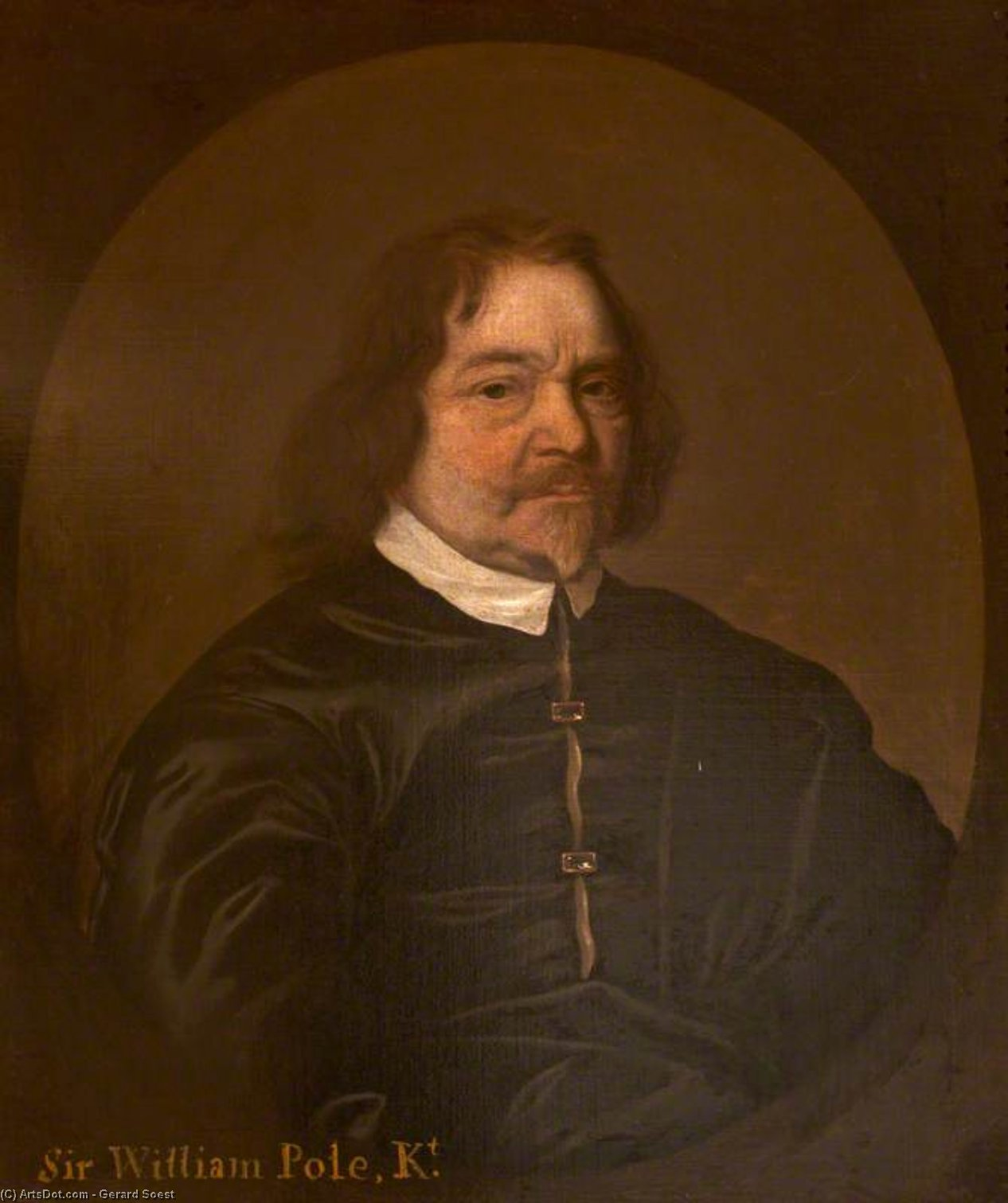 Sir william pólo por Gerard Soest (1600-1681, Germany)