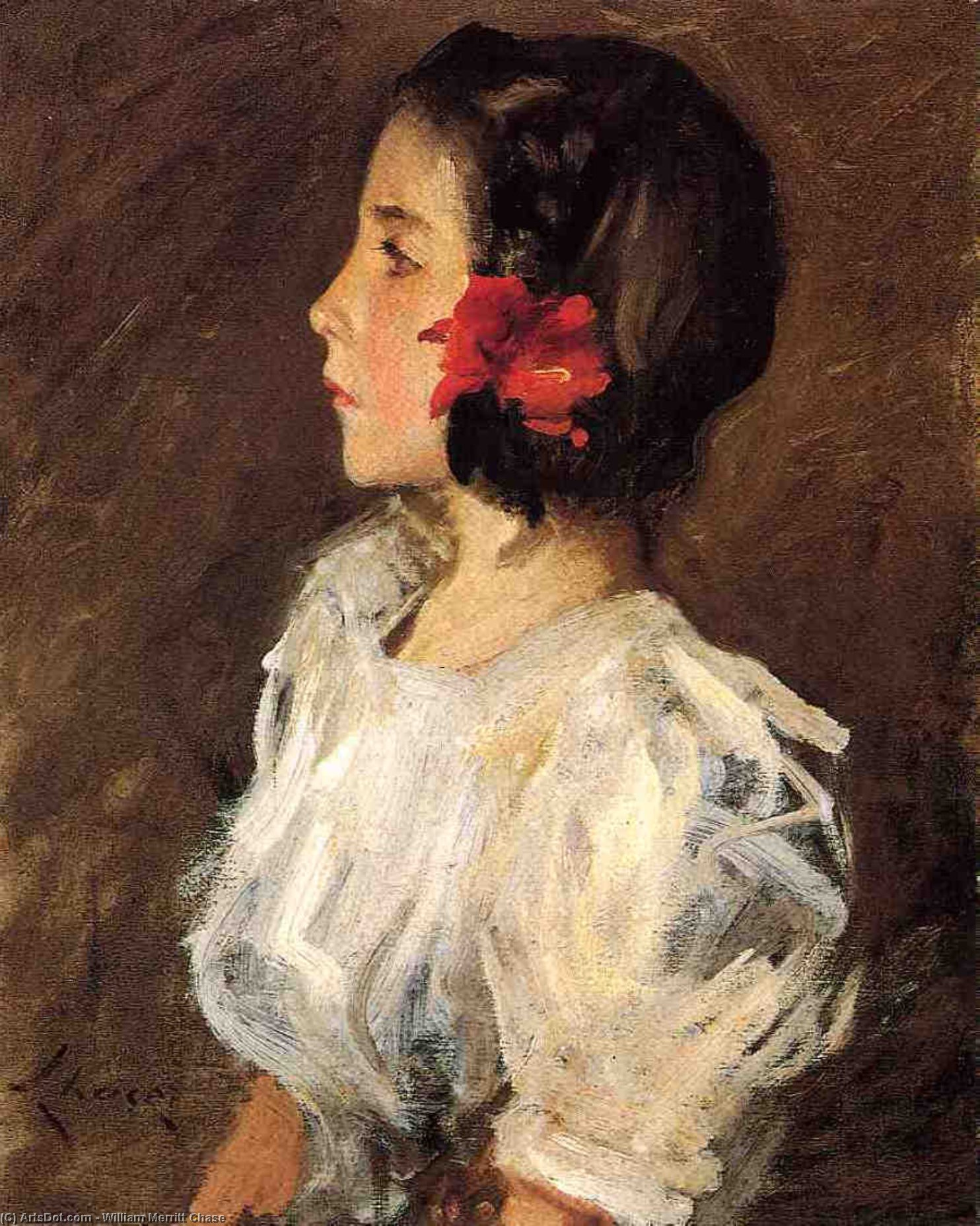 Dorothy, 1906 por William Merritt Chase (1849-1916, United States) | ArtsDot.com
