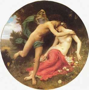 William Adolphe Bouguereau - Cupido e Psiquê