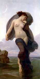 William Adolphe Bouguereau - noite humor