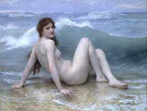 William Adolphe Bouguereau - A Onda