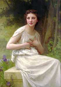 William Adolphe Bouguereau - Reflexão