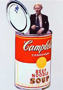 Andy Warhol - Sopa Campbell pode carne
