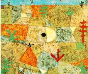 Paul Klee - do sul jardins