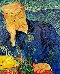 Vincent Van Gogh - retrato do dr. . Gachet