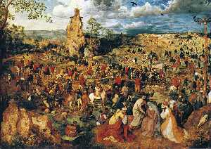 Pieter Bruegel The Elder - Cristo carregando a cruz