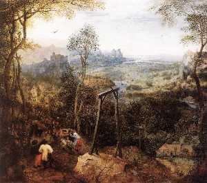 Pieter Bruegel The Elder - Pega na Gallow