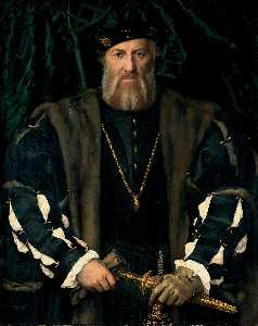 Hans Holbein The Younger - Retrato de Charles o Soli..