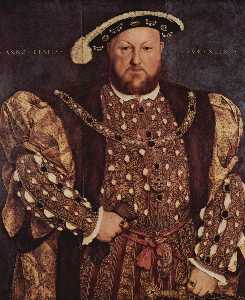 Hans Holbein The Younger - Retrato de Henry VIII1