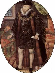 Nicholas Hilliard - christopher hatton
