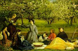 John Everett Millais - A Apple Blossoms Salte