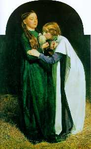 John Everett Millais - The Return of the Dove para a Arca