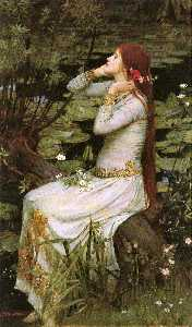 John William Waterhouse - Ofélia