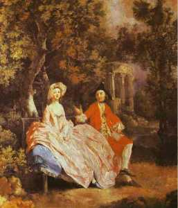 Thomas Gainsborough - Self-Portrait com o seu Esposa , Margaret ( provavelmente )
