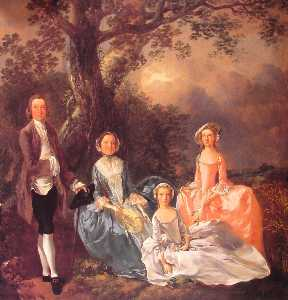 Thomas Gainsborough - A Família Gravenor