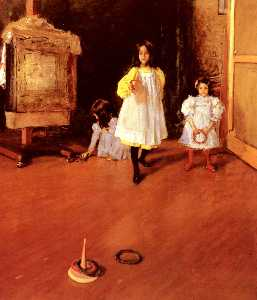 William Merritt Chase - circulo lançar