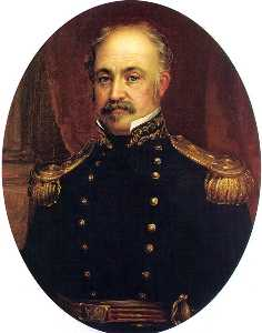 William Smith Jewett - retrato do general john a . Sutter