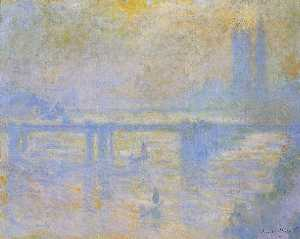 Claude Monet - Charing Cross Ponte