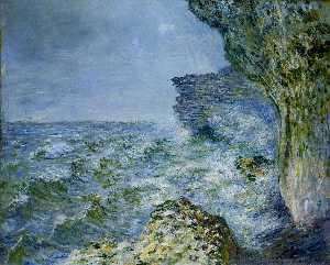 Claude Monet - O mar no Fecamp