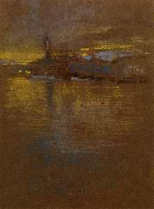 James Abbott Mcneill Whistler - Vista através da Lagoa