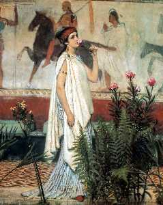 Lawrence Alma-Tadema - a grego mulher