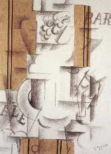 Georges Braque - Fruitdish e Vidro