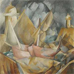 Georges Braque - porto na normandia