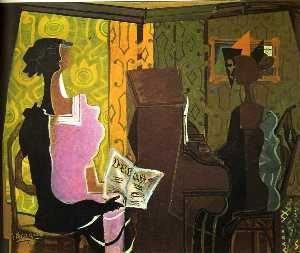 Georges Braque - the duet ( le duo )