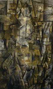 Georges Braque - mulher leitura