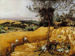 Pieter Bruegel The Elder - As ceifeira