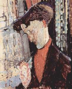 Amedeo Modigliani - Retrato de Frank Haviland..