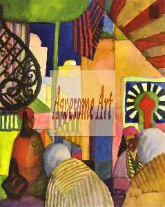 August Macke - No bazar