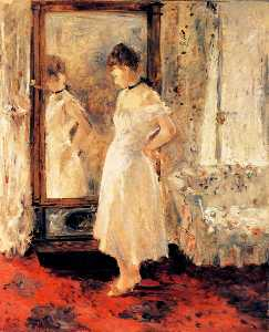Berthe Morisot - The Glass Cheval