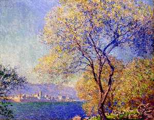 Claude Monet - Antibes visto do Salis Gardens 01