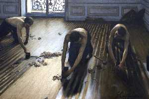 Gustave Caillebotte - As plainas do parquet