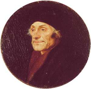 Hans Holbein The Younger - desiderius erasmus