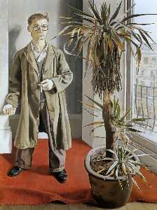 Lucian Freud - Interior em Paddington