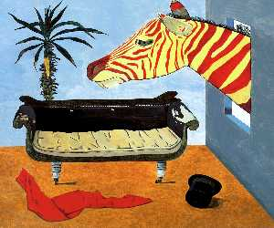 Lucian Freud - O Quarto do pintor
