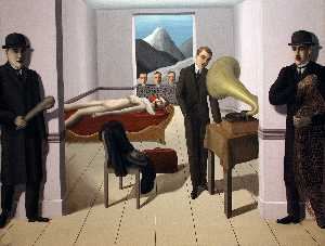 Rene Magritte - O ameaçada assassino