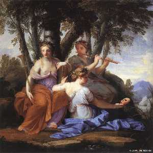 Brother Lesueur (Eustache.. - musas : Clio , Euterpe e ..