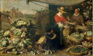 Frans Snyders - fruto curral
