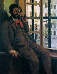 Gustave Courbet - Self-Portrait às Sainte-P..