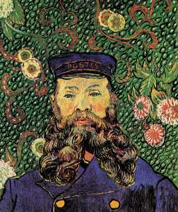Vincent Van Gogh - retrato do carteiro joseph roulin