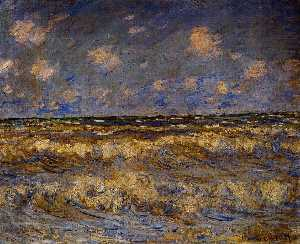 Claude Monet - áspero mar