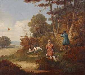 Samuel John Egbert Jones - Woodcock-shooting - dois ..