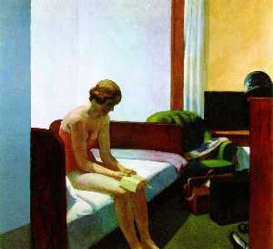 Edward Hopper - hotel quarto