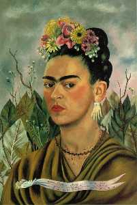 Frida Kahlo - Self-Portrait dedicado pa..