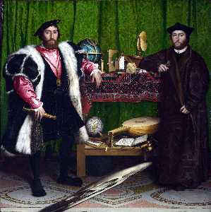 Hans Holbein The Younger - Embaixadores