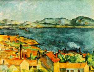 Paul Cezanne - A baía de l'estaque