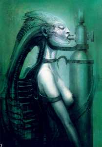 H.R. Giger - Giger hr biomechanoid - (..